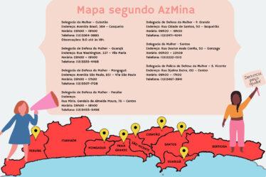Das nove cidades da Baixada Santista, sete oferecem atendimento especializado à mulher